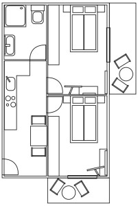 Apartment Zimmerplan